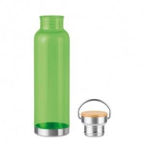 Bolígrafo automático de bambú
