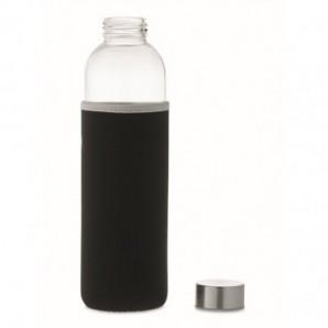 Bolígrafo de aluminio brillante tinta negra