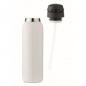 Set bolígrafo y roller de corcho y metal