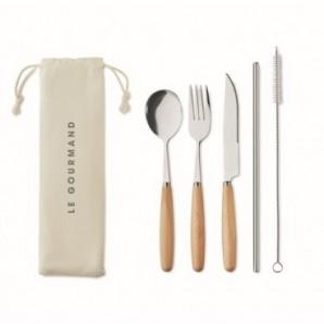 Cargador inalámbrico de bambú Y reloj despertador
