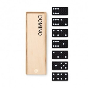 Reloj de sobremesa de madera multifunción