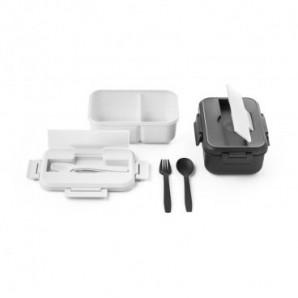 Reloj despertador y temperatura en bambú