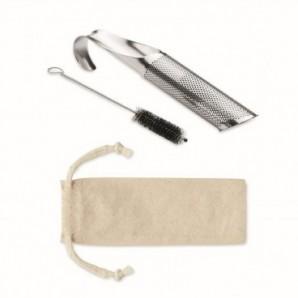Pack globos 25 cm + varillas + inflador eléctrico Marfil