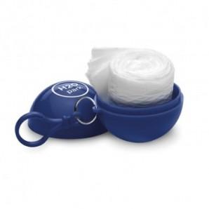 Espejo de aluminio con funda terciopelo