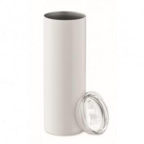 Bolígrafo translucido con clip