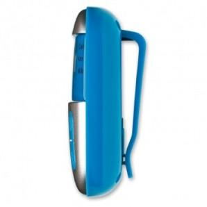 Taza de porcelana con cuchara y tapa