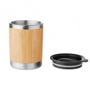 Bolígrafo de plástico revestido de corcho