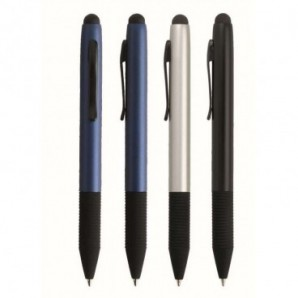 Set de bolígrafo y portaminas de bambú