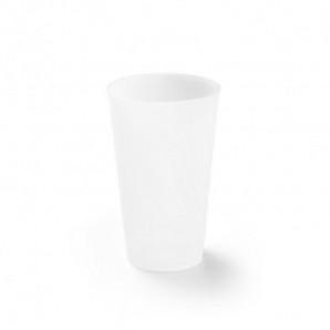 Fiambrera fibra bambú y PP con tapa de bambú