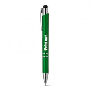 Bolígrafo de corcho y metal