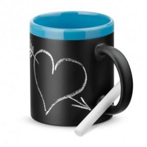 Bolígrafo con clip de metal con tinta azul