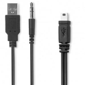 Impermeable con capucha en EVA Azul