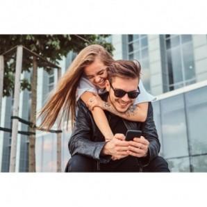Globos de látex personalizados 45 cm Diámetro Azul