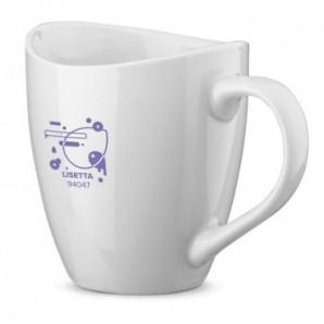 Bolígrafo de plástico con peana