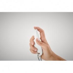 Botella de metal con pajita plegable Azul