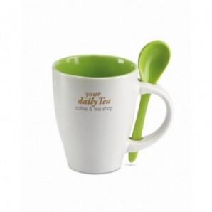 Bolígrafo con clip de metal y detalles a contraste