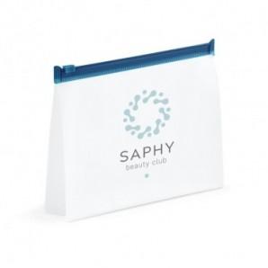 Llavero metálico y plástico Label Rojo