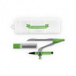 Pack globos de 28 cm + varillas + inflador manual Azul
