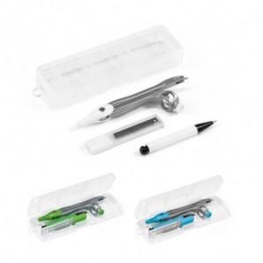 Pack globos 28 cm + varillas + inflador eléctrico Azul marino