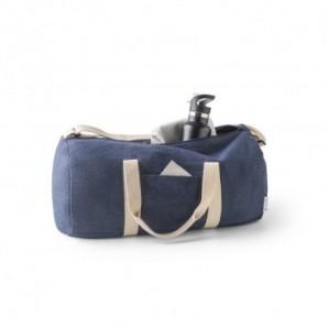 Bolígrafo de plástico Ruta Plateado
