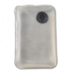 Bolsa de la compra de algodón plegable Blanco