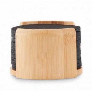 Tabla de quesos de bambú