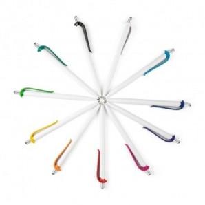 Base magnética con clips