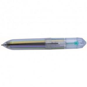 Paraguas plegable con detalles en color