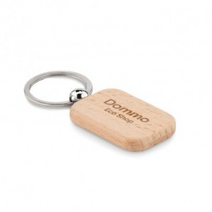 Paraguas manual con mango de madera