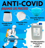 Productos anti-Covid